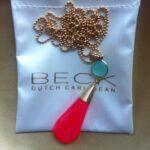 BECK Hot Pink & Aqua